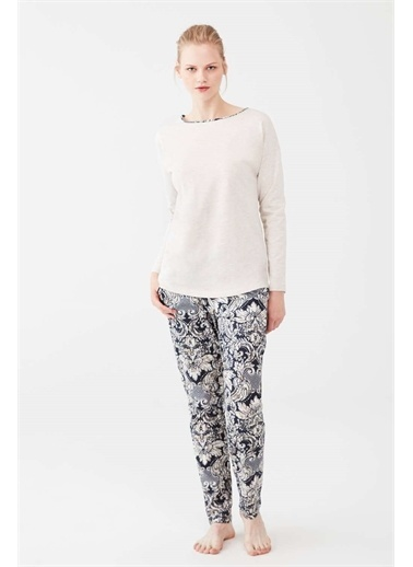 Mod Collection Pijama Takım Bej
